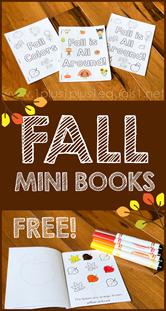 Fall Mini Books